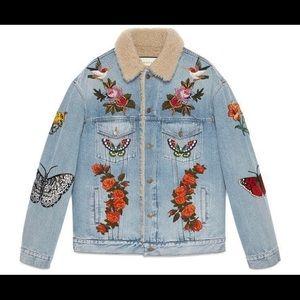 Pre-Owned Vintage Gucci Jean Jacket